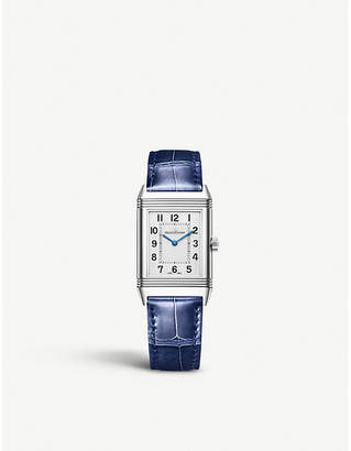 Jaeger-LeCoultre Q2518540 Reverso Classic stainless steel and leather watch