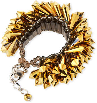 Panacea Wide Spikes Bracelet