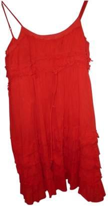 Les Petites Red Cotton Dress for Women