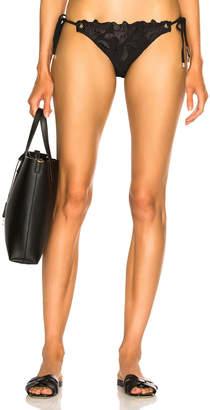 Fleur Du Mal Side Tie Bikini Bottom