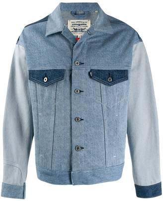 Levi's Made & Crafted colour block jacket