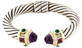 David Yurman Multistone Renaissance Hinge Bracelet