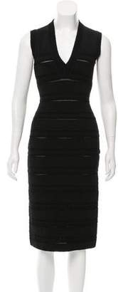 Alaia Scalloped Midi Dress