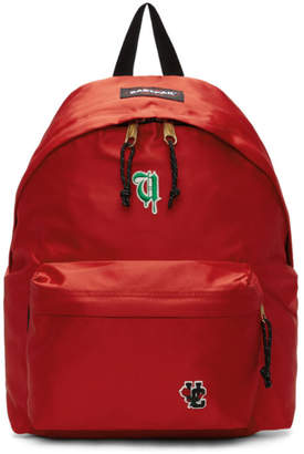 Undercover Red Eastpak Edition Satin Padded Pakr UC Backpack