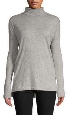 Saks Fifth Avenue Turtleneck Cotton Sweater