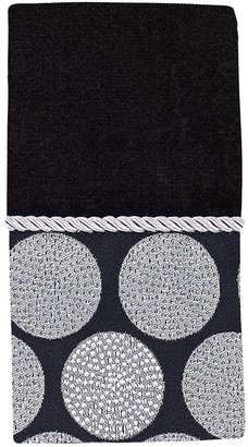 Avanti Dotted Circles Fingertip Towel