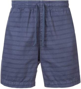 SAVE KHAKI UNITED drawstring fitted shorts