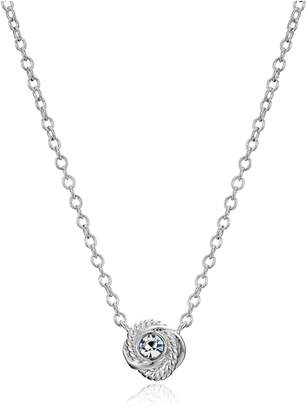 Kate Spade Infinity and Beyond Knot Mini Pendant Necklace