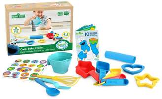 Green Toys Cookie Monster Cook Bake Create Toy Set