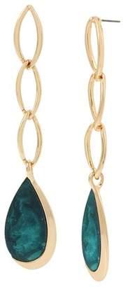 Robert Lee Morris Soho Linear Link Drop Earrings