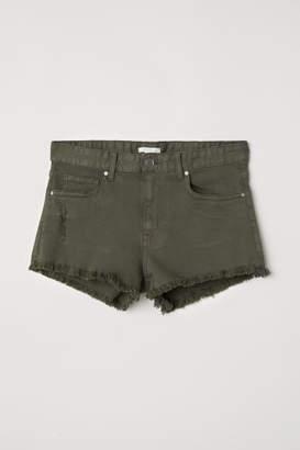 H&M Denim Shorts - Green