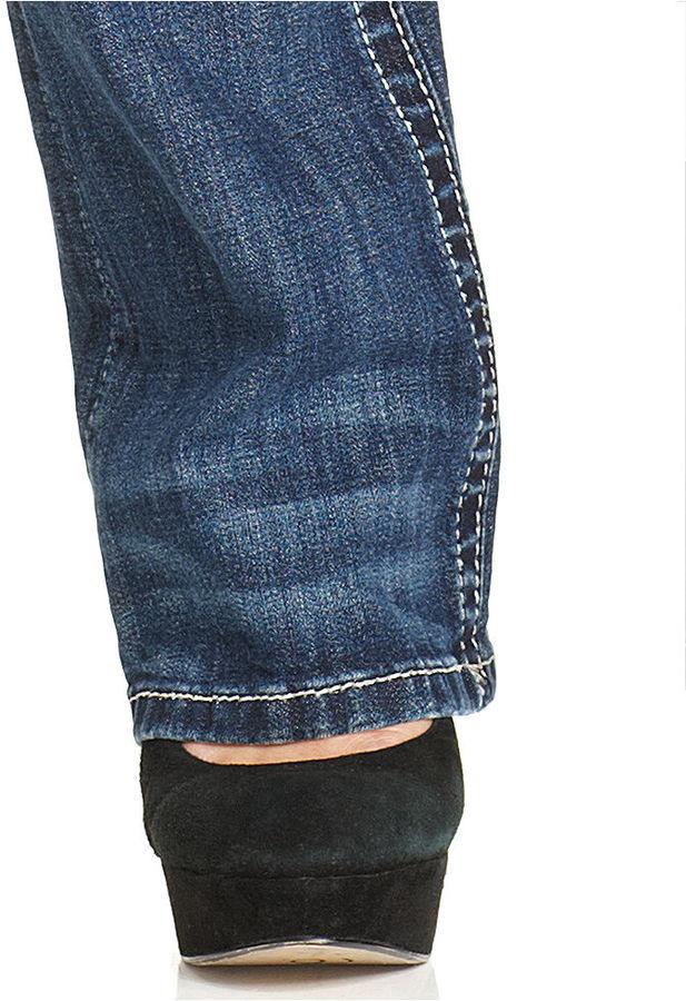Miss Me Jeans, Bootcut Studded Medium-Wash