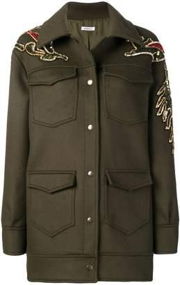P.A.R.O.S.H. sequin embellished coat