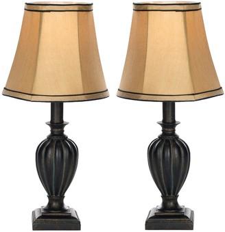 Safavieh 2-piece Gemma Table Lamp Set
