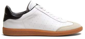 Isabel Marant - Brycy Low Top Leather Trainers - Mens - White
