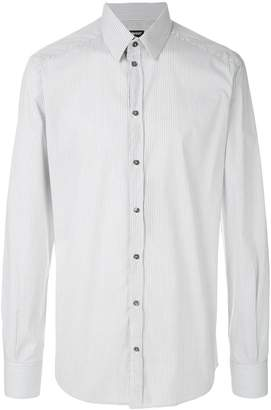 Dolce & Gabbana striped slim fit shirt