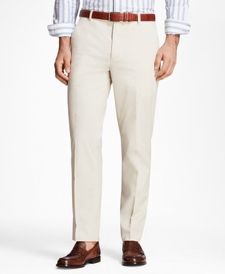 Brooks Brothers Milano Fit Supima Cotton Poplin Stretch Chinos
