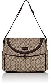 Gucci GG Supreme Canvas Diaper Bag - Brown
