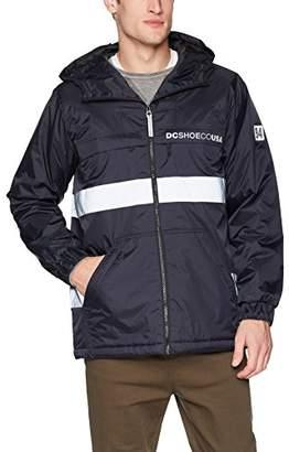 DC Men's Banbury Water Resistant Anorak Windbreaker Jacket