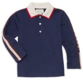 Gucci Baby Boy's Collared Long-Sleeve Shirt