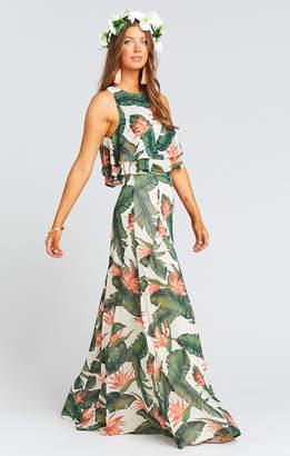 Show Me Your Mumu Princess Di Maxi Skirt ~ Paradise Found