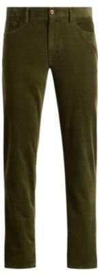 Ralph Lauren Classic Stretch Corduroy Pant Spanish Olive 38