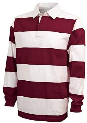 Charles River Apparel Men's Classic Rugby Shirt