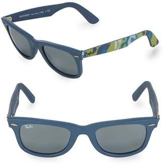 Ray-Ban Men's Printed Wayfarer Sunglasses