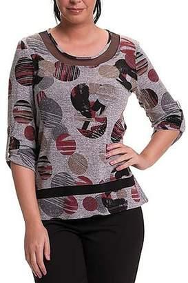 Bali 3/4 Sleeve Sweater Top