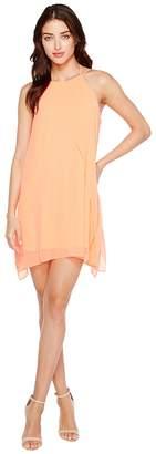 Brigitte Bailey Cyndel Spaghetti Strap Ruffle Dress Women's Dress