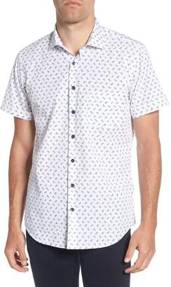 Rodd & Gunn Regular Fit Pinotage Print Woven Shirt