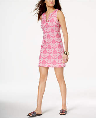 Trina Turk Printed Jacquard Dress