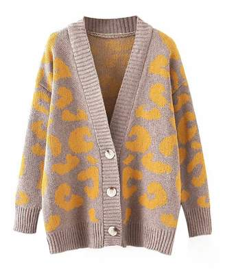 Goodnight Macaroon 'Penelope' Leopard Print Cardigan (3 Colors)