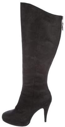 Cynthia Vincent Suede Knee-High Boots