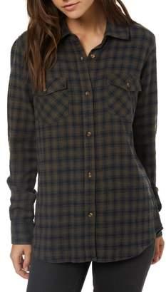 O'Neill Jordie Plaid Shirt