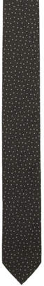 HUGO Black Polka Dot Neck Tie