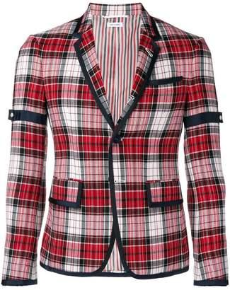 Thom Browne Armband Variegated Check Sport Coat