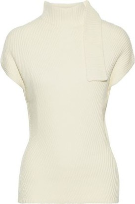 Narciso Rodriguez Ribbed Wool Turtleneck Sweater