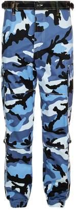 Valentino Camo Cargo Trousers