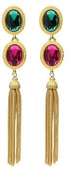 Ben-Amun Ben Amun Multi Color Clip-On Earrings