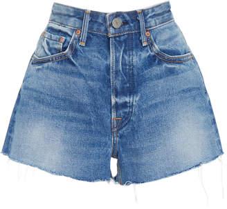 GRLFRND Denim Cindy Distressed Denim Shorts