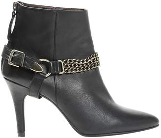 Ikks Leather ankle boots