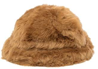 Free Press Faux Fur Bucket Hat