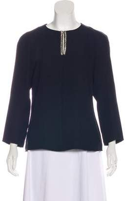 Ted Baker Embellished Long Sleeve Top