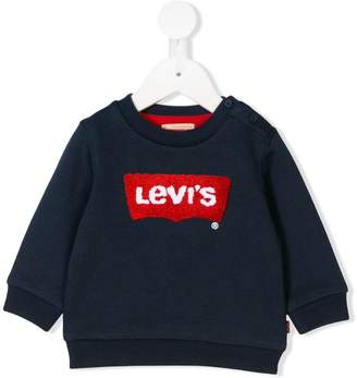 781df7cb6 Levi's Kids logo embroidered sweatshirt
