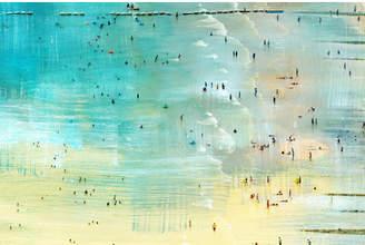 Parvez Taj Specks in the Water Canvas Wall Art