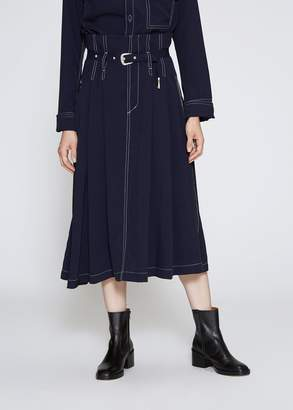 TOGA Archives Rayon Twill Skirt