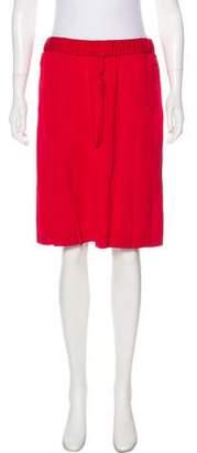 Tomas Maier Pleated Knee-Length Skirt
