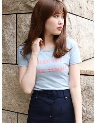 dazzlin (ダズリン) - dazzlin レタリングTシャツ