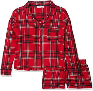 38e9fcbab3 New Look 915 Girl s 915 Stay UP Flannel PJ Short S Checkered Pyjama Sets